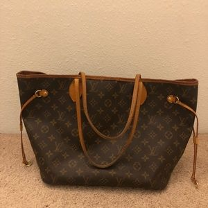7515eba781bac9 Handbags - SOLD-Authentic louis vuitton neverfull mm bag